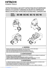 Hitachi EC 16 Instruction Manual
