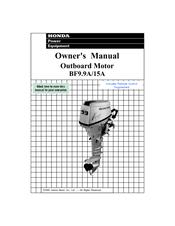 honda automobiles outboard motor bf15a manuals rh manualslib com Toyota Workshop Manual 1000 1985 Honda ATC 250R