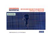 Honda Marine BF20D Owner's Manual