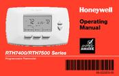 honeywell rth7400 series manuals rh manualslib com honeywell rth7400 user manual Honeywell Security Manuals