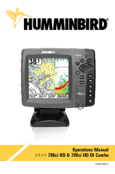 Humminbird 788ci HD DI Operation Manual
