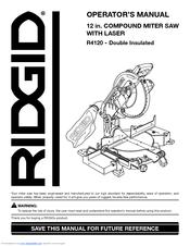 ridgid r4120 manuals rh manualslib com