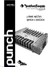 rockford fosgate punch p400 4 manual