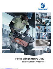 Husqvarna K 3000EL Price List