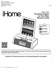 ihome id50 manuals rh manualslib com ihome id38 manual