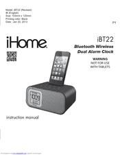 ihome ibt22 manuals rh manualslib com