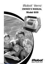 Irobot Pool Cleaning Robot Verro Manuals