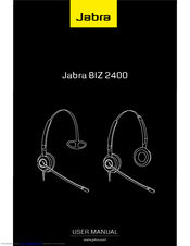 jabra biz 2400 series manuals rh manualslib com Kindle Fire User Guide Clip Art User Guide