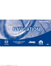 Jeep Navigation User Manual
