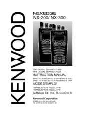kenwood nexedge nx 200 instruction manual pdf download rh manualslib com kenwood nx-210 service manual Kenwood Nexedge Pricing