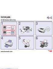logiciel lexmark x1100 series