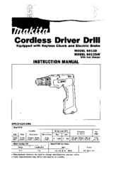 MAKITA 6011D INSTRUCTION MANUAL Pdf Download