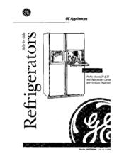 ge tfx24 manuals rh manualslib com Manual for Frigidaire Refrigerator Repair general electric refrigerator service manual