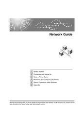Lanier LD245 Network Manual