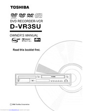 TOSHIBA D-VR3SU Owner's Manual