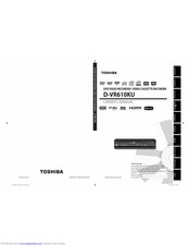TOSHIBA D-V610KU Owner's Manual