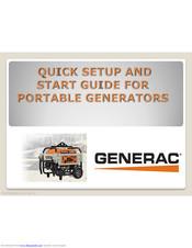 Generac gP series Portable Generators GP1800 to GP8000