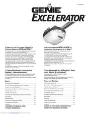 Genie Excelerator Manuals