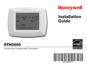 Honeywell RTH8500 Series Installation Manual