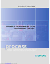 Siemens ANCB/DN User Manual