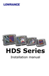 hds 8 wiring diagram lowrance hds series installation manual pdf download manualslib  lowrance hds series installation manual