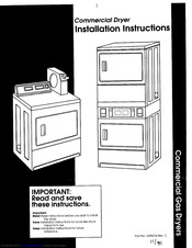 Maytag 3395316 Installation Instructions Manual