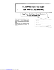 Maytag 338972 Use And Care Manual