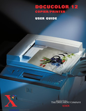 Xerox DOCUCOLOR 12 User Manual