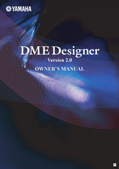 Yamaha DME24N Owner's Manual