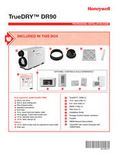 Honeywell TRUDRY DR90 Professional Installation Manual