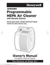 Honeywell Enviracaire 17005 Owner's Manual
