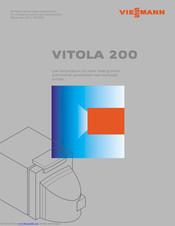 Viessmann Vitola 200 Manuals