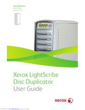 Xerox LightScribe x.10 User Manual