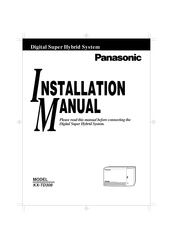 Panasonic KX-T7235 Installation Manual