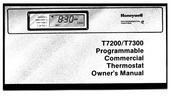 Honeywell T7200 Owner's Manual