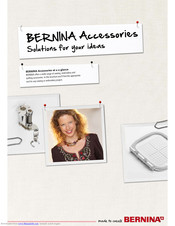 Bernina 820 At-a-glance Reference Manual