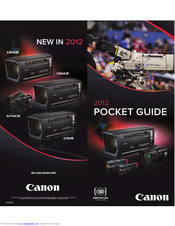 Canon DIGISUPER 60xs Pocket Manual