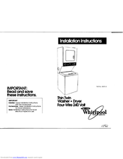 Whirlpool 3397512 Installation Instructions Manual