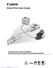Canon Printers User Manual