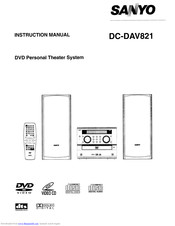 Sanyo DC-DAV821 Instruction Manual