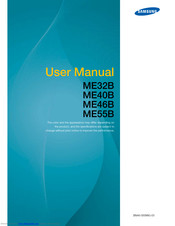 Samsung ME40B User Manual