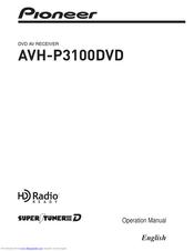 PIONEER SUPER TUNER IIID AVH-P3100DVD OPERATION MANUAL Pdf Download |  ManualsLibManualsLib