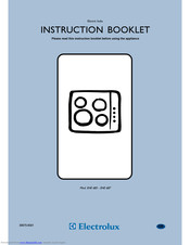 Electrolux EHE 683 Instruction Book