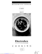 Electrolux 3621 CUBIST User Manual