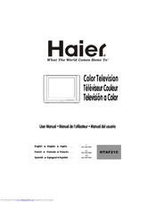 Haier HTAF21C User Manual