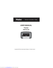 Haier HHH1A-2G User Manual