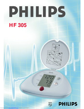 Philips HF 305 User Manual