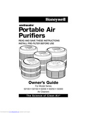Honeywell Enviracaire 50250 Series Owner's Manual