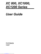 Xerox XC1200 Series User Manual