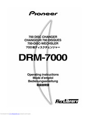 Pioneer DRM-7000 Operating Instructions Manual